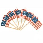 144 counts American Flag Picks