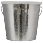 TIKI 1412110 17-Ounce Galvanized Citronella Wax Bucket