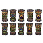 Mini Tiki Cutouts Party Accessory (1 count) (10/Pkg)