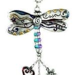 1 X Dragon Fly Color Car Charm by Ganz