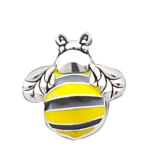 1 X Bumble Bee Charm by Ganz