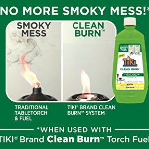 TIKI Brand 1215057 Clean Burn Torch Fuel, 32 oz