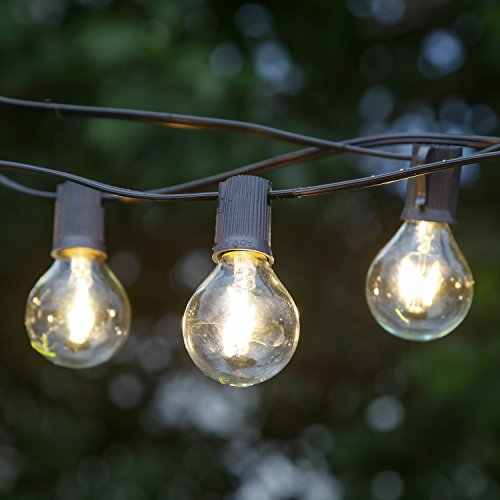 Brightech ambience pro led string lights with g40 led - Led light bulbs for exterior use ...