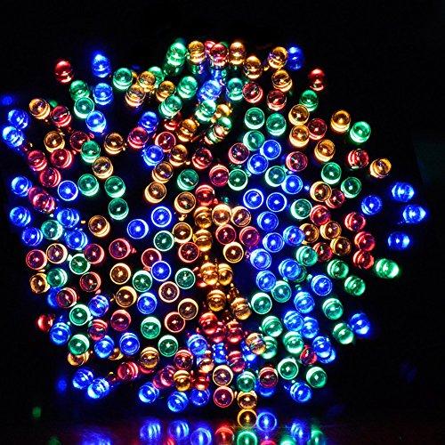 Solar Led Christmas Lights.Dephen Solar Led String Lights 39ft 100 Leds 8 Modes Solar Waterproof Outdoor Fairy String Lights Christmas Lights For Garden Lawn Patio Party