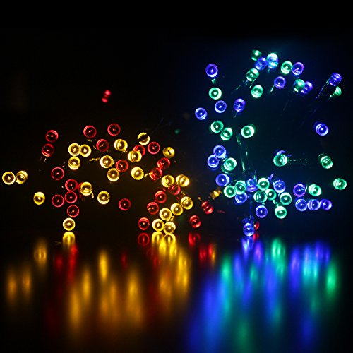 Solar Lights Christmas Tree Shop: Dephen Solar LED String Lights, 39ft 100 LEDs 8 Modes