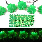 Irish Shamrock Light String Set