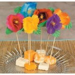 Picks 6 inch Hibiscus Flower 144 pc by Fun Express