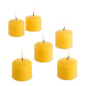 Candle Charisma Votive Citronella Scented Candles, Summer Yellow, Set of 72